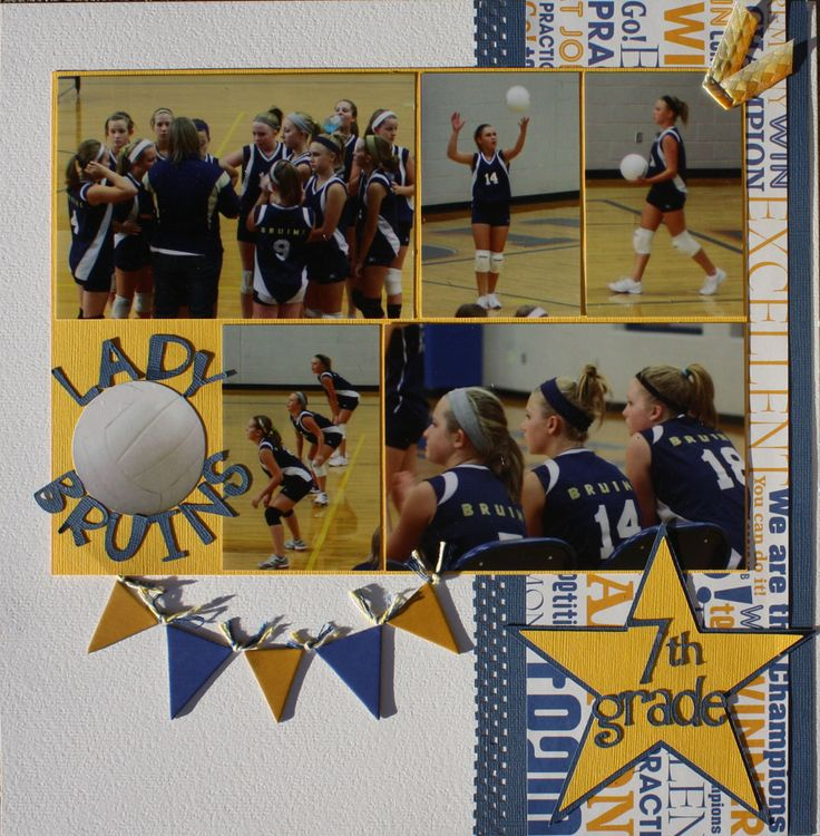Lady Bruins 7th grade - Scrapbook.com