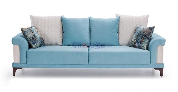 Bu mavi renkli tekli kanepe sizler için özel tasarlandı.Bu şık ve güzel görünümlü kanepeler  için sitemizi ziyaret edebilirsiniz.