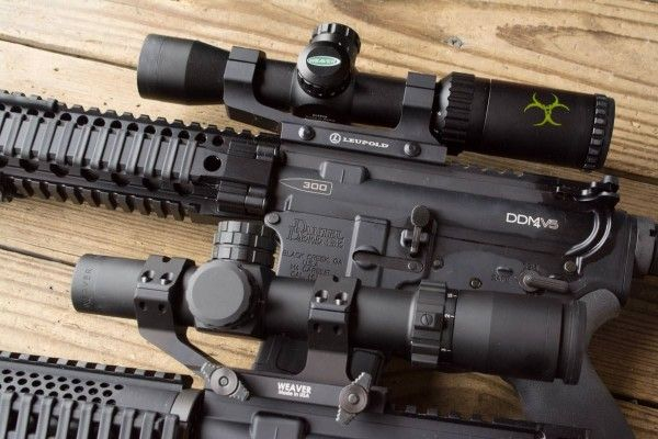 The Weaver Kaspa Z is one of the best AR 15 scopes buys out there. It has many similar features to the Weaver Tactical, below, at a fraction of the price.