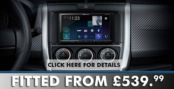 Install A New Pioneer Avhz5100dab 7 Bluetooth Carplay Dab Digital Radio In Your Vehicle At The Best Price Bluetooth Car Stereo Apple Car Play Stereo
