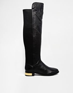 Carvela Pacific Leather Knee High Boots