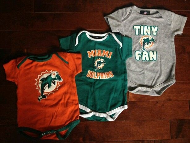 31a0e86d miami dolphins onesie jersey