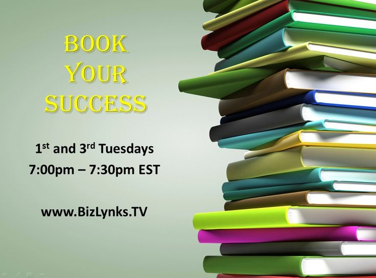 BizLynks.tv/bookyoursuccess Spotlights successful entrepreneurs and  business professionals who use their