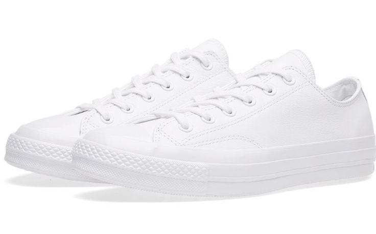 Converse OX 70's Leather Lo (Triple White)