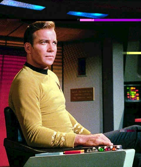 Star Trek (TOS) - Court Martial Captain Kirk and his command buttons...!