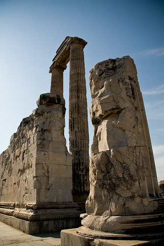 Ruins at Temple of Apollo, Didyma, Turkey