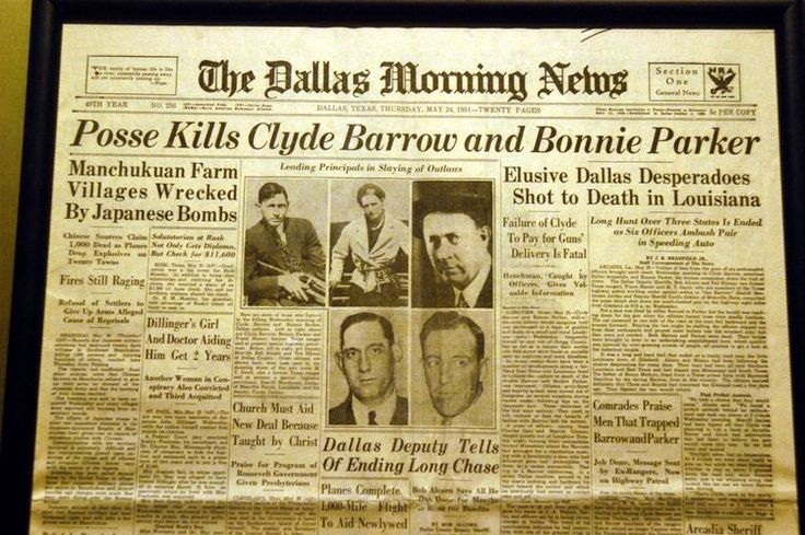 Read Bonnie Parker's Poem 'The Story of Bonnie and Clyde'