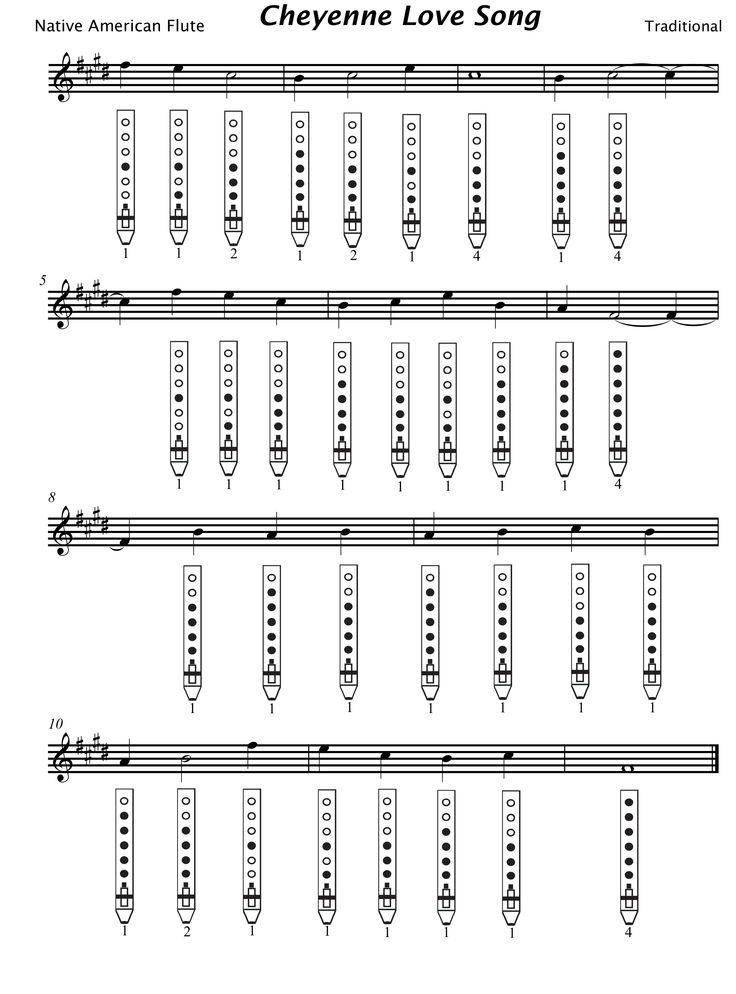 Free Flute Sheet Music   flutetunes.com