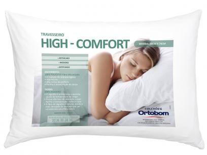 #19,90#Travesseiro High Confort - Ortobom com as melhores condições você encontra no Magazine Bethcristina. Confira!