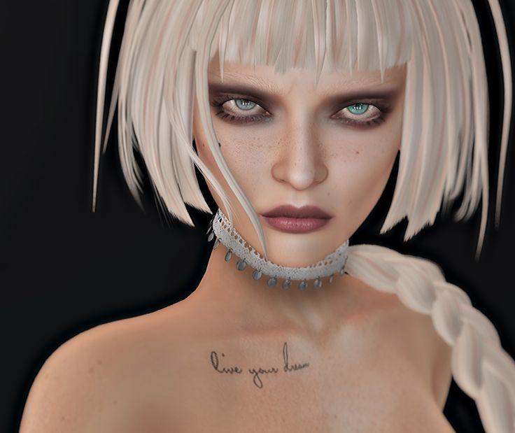 Credits .LeLutka.Head.Cate 2.7 & eyes *YS&YS* Dea skin applier Lelutka [KoKoLoReS] Frown Lines (mesh) Az… Reel Eyes applier Aquamarine & Gray DeeTaleZ Mesh BEAUTY MOLE (Yummy) Cro…