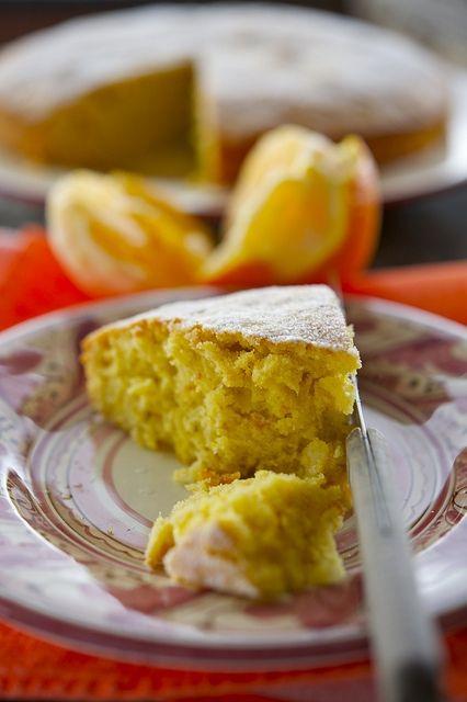 Апельсиновый пирог/Pandarancia | Элла Мартино Рецепты Кулинарные туры Итальянская кухня
