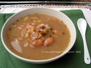 #zuppa di #castagne e #fagioli  http://www.glutenfreetravelandliving.it/gffd-ricette/