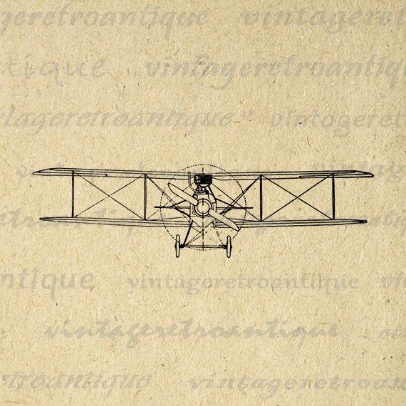 vintage airplane clipart - photo #40