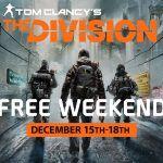 Tom Clancys The Division gratuit sur PC du 15 décembre à 19h jusquau 18 décembre à 22h