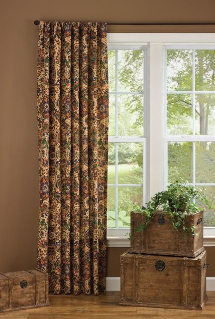 Jewels Lined Single Curtain Panel 56 Quot X 96 Quot Panel