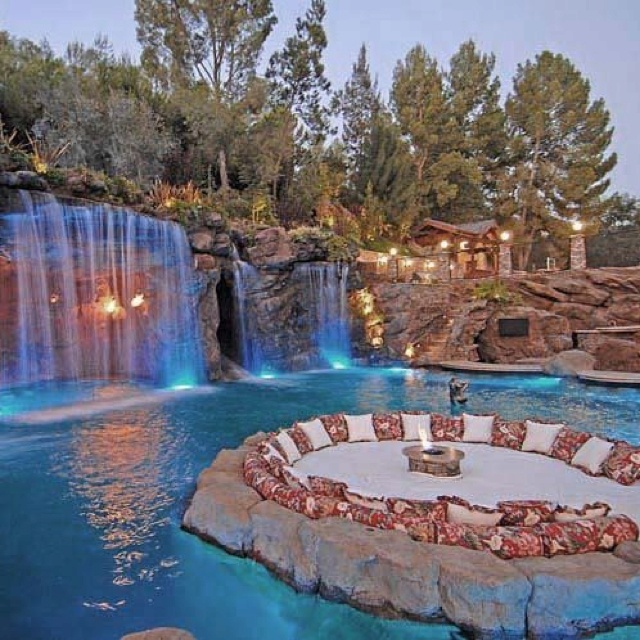124 best images about pools on pinterest fire pits back