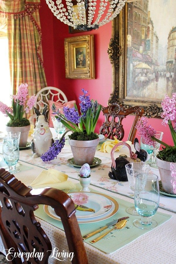 Spring Tablescape Blog Hop: Spring, Sweet Spring