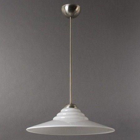 Hanglamp Opaalwitte Schotel