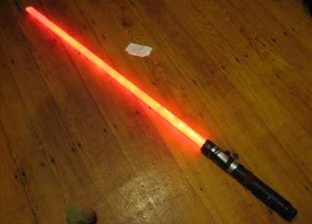DIY lightsaber oh now I've seen everything