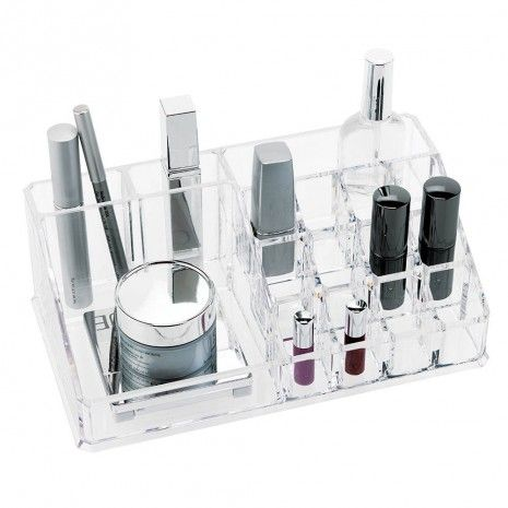 Large Acrylic Cosmetic Organizer - Solids - Bath Accessories - Bath