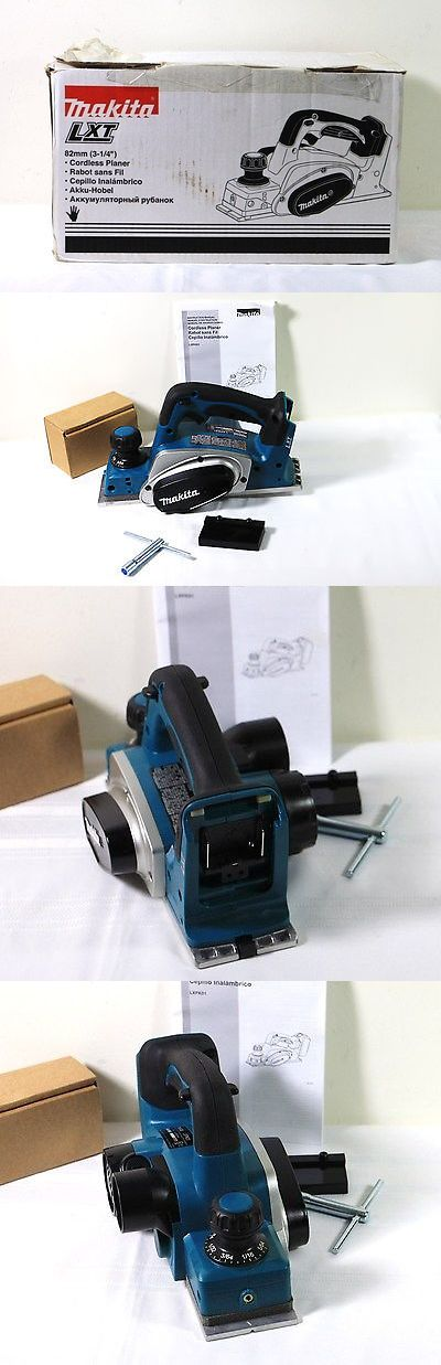 Planers 177002: Makita Lxpk01 18-V Lxt Li-Ion Cordless 3-1 4-Inch Planer , Bare Tool #M17 -> BUY IT NOW ONLY: $179 on eBay!