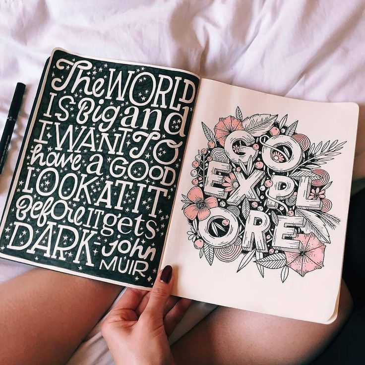 Gorgeous work by @stephsayshello - #typegang - free fonts at typegang.com | typegang.com #typegang #typography