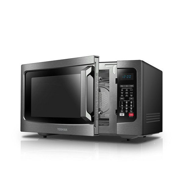 This Microwave Has A Spacious Interior And Features Convection And