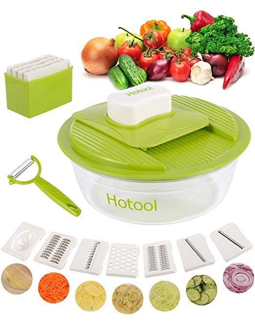 kitchen food slicer overhead lights hotool mandoline vegetable chopper gadget peeler onion