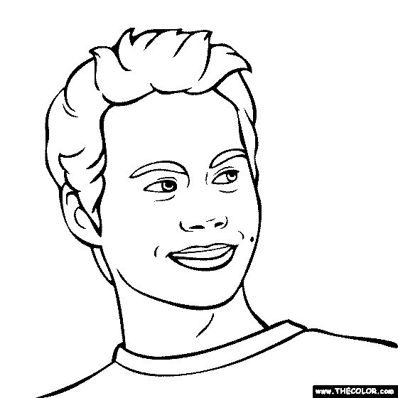 dylan coloring pages - photo#24