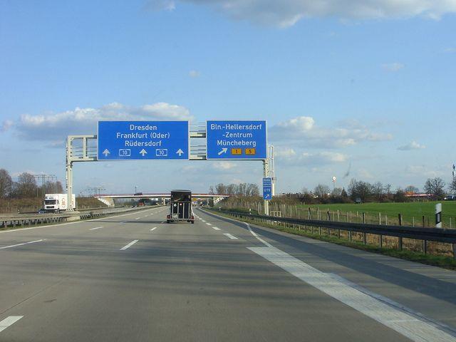 On the way to Berlin - Hellersdorf, my exit | Abfahrt Heller… | Flickr - Photo Sharing!
