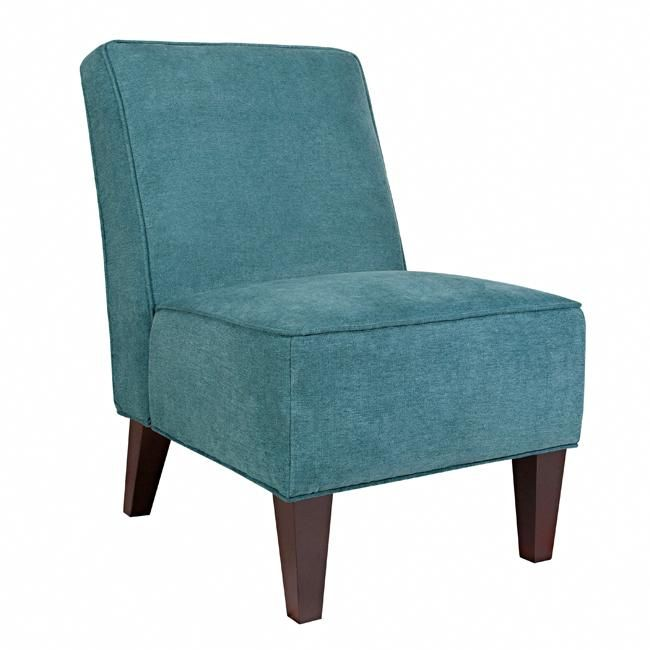 Slipper Chairs Teal Blue Armless Chair by angelo HOME99 best chairs images on Pinterest   Accent chairs  Living room  . Red Accent Chair For Bedroom. Home Design Ideas
