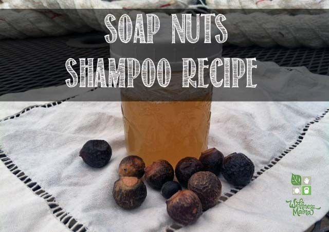 Soap Nuts Shampoo Recipe easy and natural Soap Nuts Shampoo