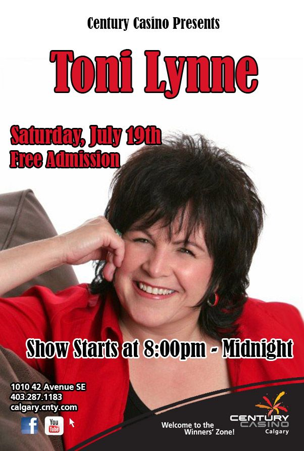 We present Toni-Lynne July 19th! This lady is one class act & an outstanding Entertainer!