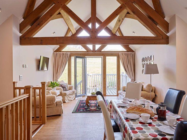 Tynrhyd Retreat – Commercial contemporary barn complex | Welsh Oak Frame #barn #oak #retreat #wood #wooden #house #home