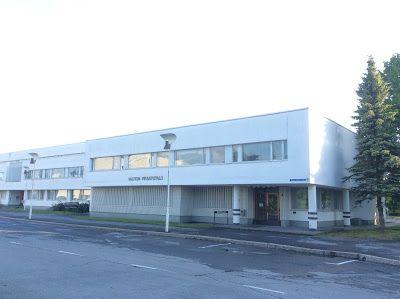 Merjan kuvisblogi: Flanööri Alvar Aallon arkkitehtuurista kotikaupungissani Seinäjoella