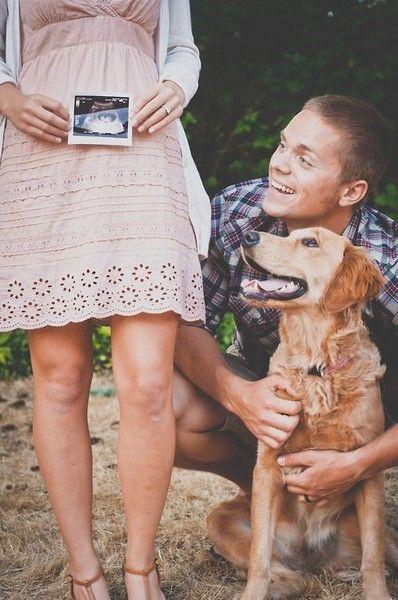 Keep it simple - Adorable Pregnancy Announcements - Photos