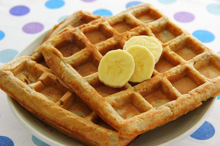 Vegan Banana Nut Bread Waffles - A Vegan Blogging Extravaganza at The ...