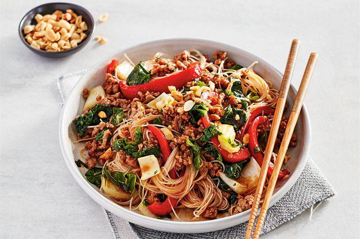 Quick Thai Pork Stir-Fry
