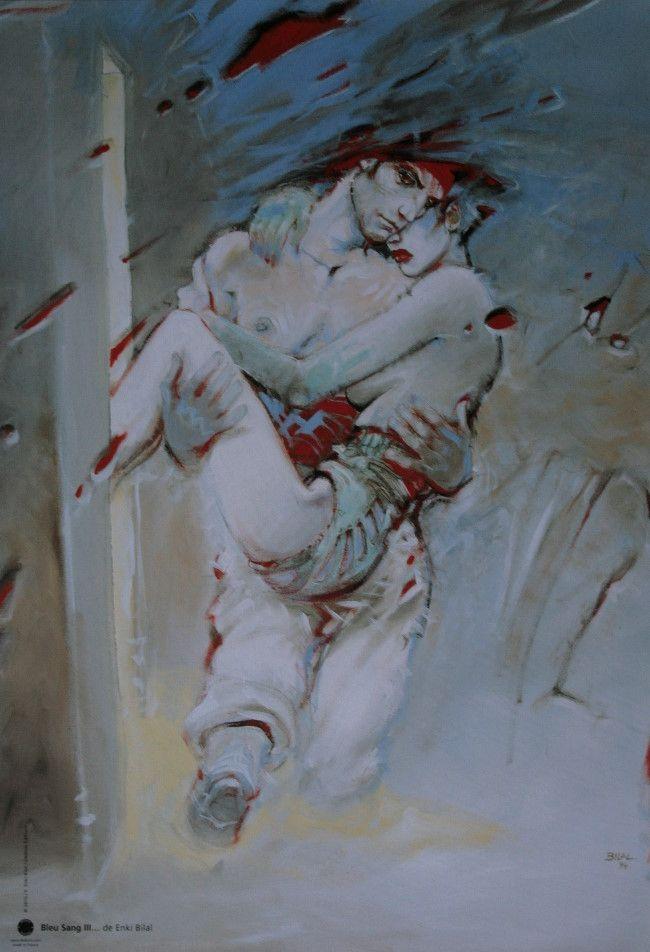 Affiche Enki Bilal : Bleu sang 3