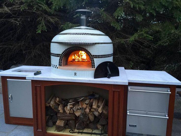 Napolino custom tiled oven