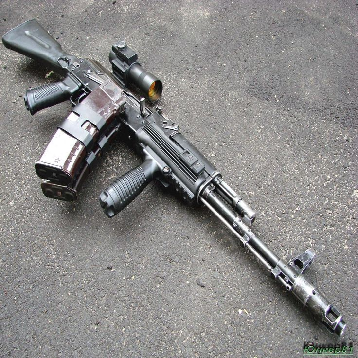 forget the dog, this's men new best friend (the state of the art AK 105 assault rifler)