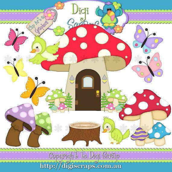 Pixie Goodies Digital Clip Art Set Clipart by Digiscrapsau, $2.00