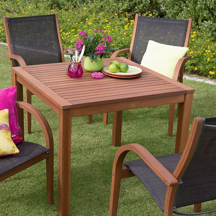with four comfortable arm chairs the bali 4 seater square set is the perfect place to enjoy a leisurely weekend lunch in the sun