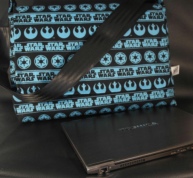 Starwars Fabric Computer Bag – Padded Cross Body Bag