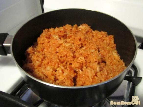 Com Do (Vietnamese Red Rice)