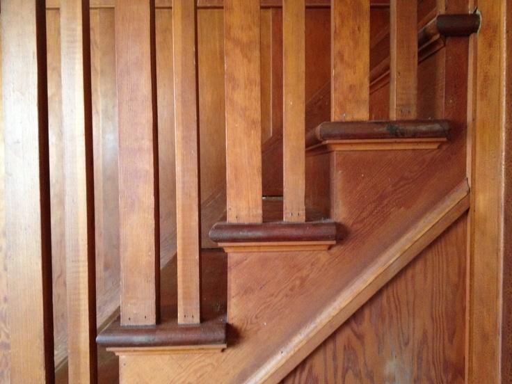 Wood staircase - beautiful