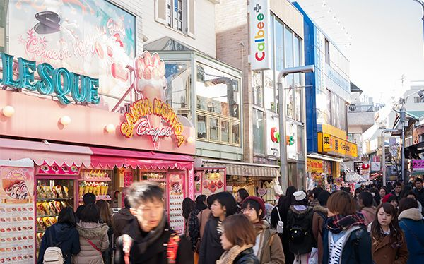 Harajuku is, without a doubt, one of the most recognizable areas of Tokyo.
