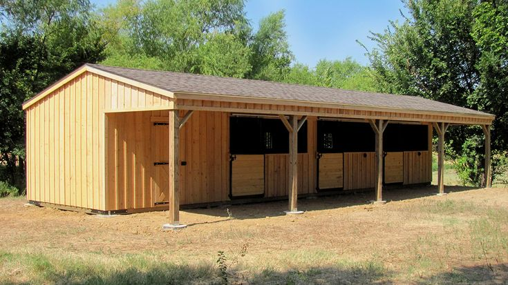 Portable Horse Shelters - Livestock Shelters & Run In Sheds For ...