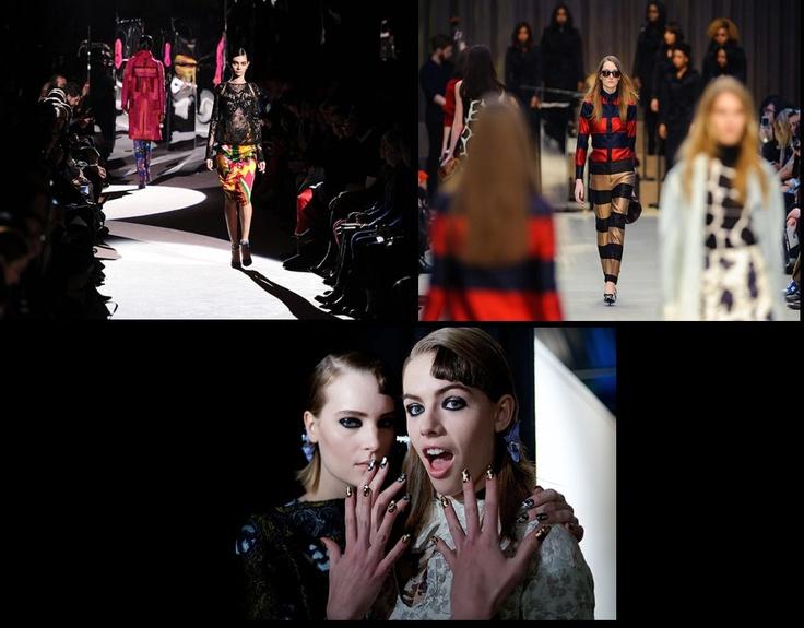 That model life. A day at London Fashion Week: Tom Ford, Burberry Prorsum, Michael Van Der Ham