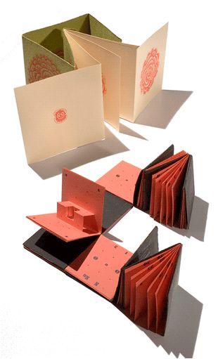 Craft de papel: Libros pop up. Regalo original hecho a mano.